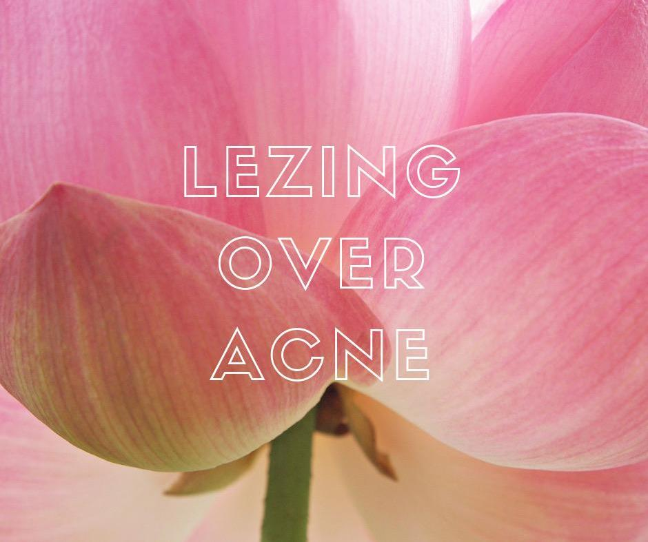 Lezing over acne